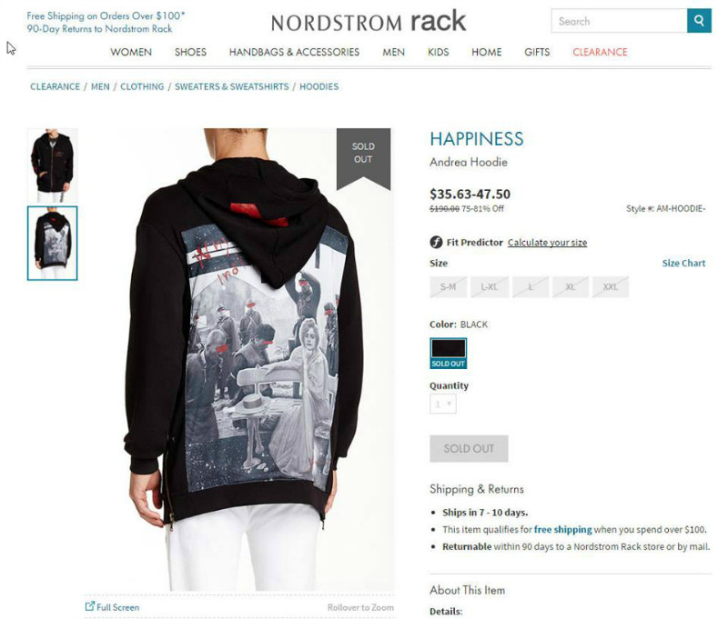 f9552d829 Nordstrom hoodie showing massacre scene of Japanese killing Chinese in WWII  spurs outrage
