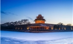 Beauty of snow-capped Beijing