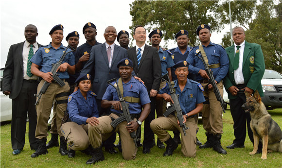 K9 Narcotics Tactical Unit Launched in Johannesburg
