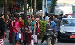Burmese flee from conflict to SW China