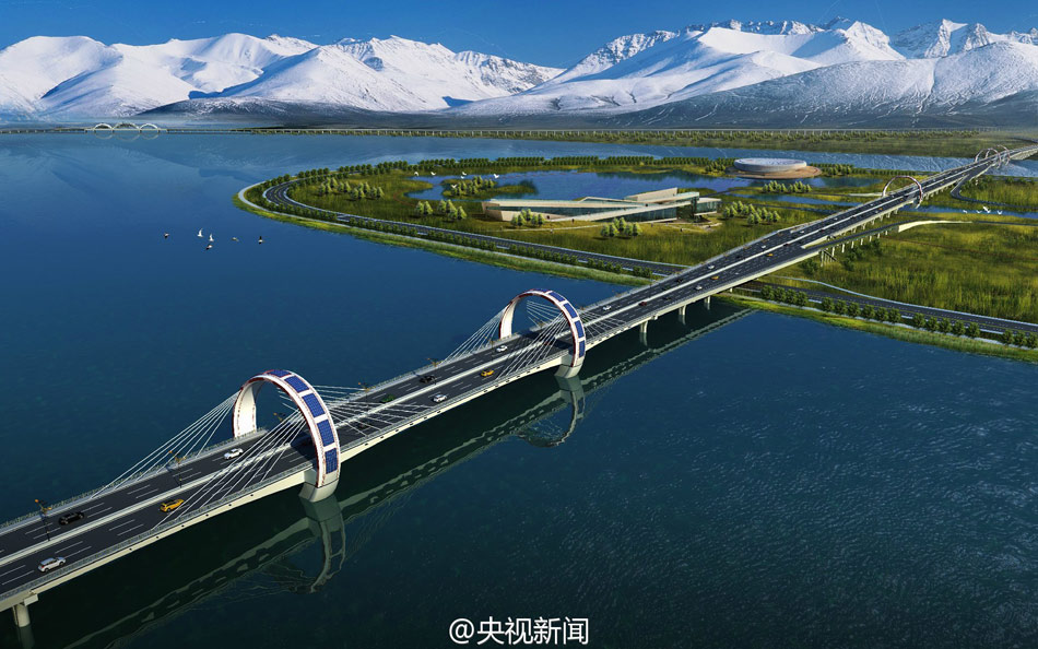 China building world's highest-altitude ring road in Tibet
