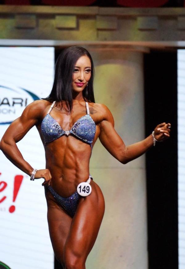 Chinese woman wins female bodybuilding championship