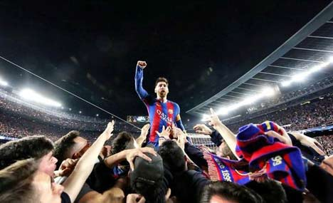 Barca made history with record fightback in Camp Nou