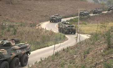 PLA stages live-fire drill near China-Myanmar border
