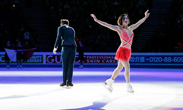 Blades of glory for China's plucky pair