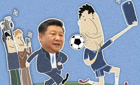 Chinese President Xi Jinping in Cartoons