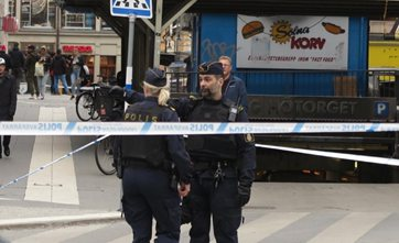Swedish police arrest man after attack