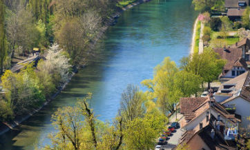 In pics: spring scenery of Switzerland