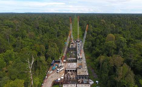 Brunei's Temburong Bridge project by Chinese firm