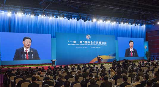 Xi calls for joint efforts to turn B&R into path for peace, prosperity