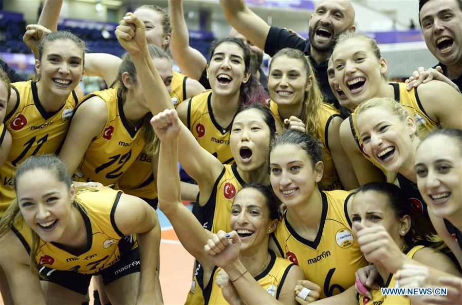Vakifbank Istanbul claims title in Women's Club World Championship 2017
