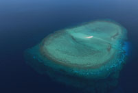 Magnificent view of Nansha Islands in South China Sea
