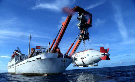 Jiaolong completes final dive