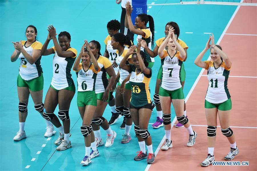 BRICS Games women's volleyball match: South Africa vs. China