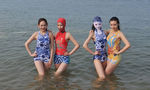 Qingdao's signature swimwear product attracts more and more Chinese and overseas beachgoers in niche market