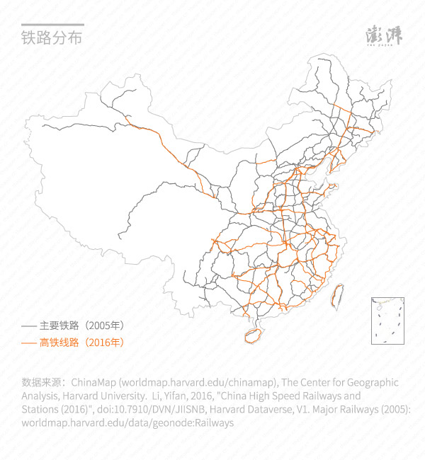 Chinas population distribution precipitation railways in pictures in addition harvard universitys website chinamap shows that chinas railways are mainly located east of the heihe tengchong line gumiabroncs Gallery