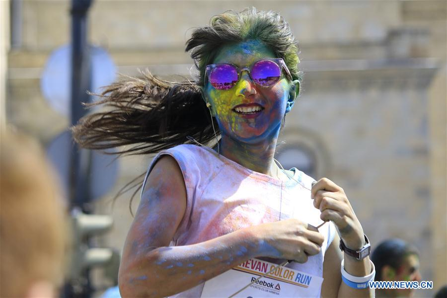 Color Run held in Armenia to promote healthier lifestyle