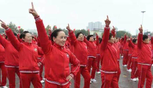 Mass square dancing becomes new competition at China's 13th National Games