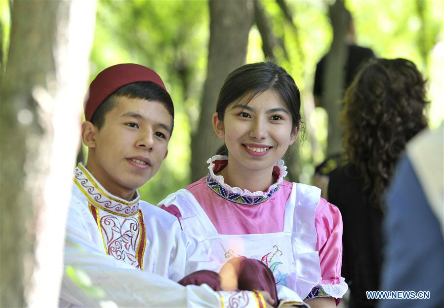 Saban festival of Tatar ethnic group held in Tacheng, NW China