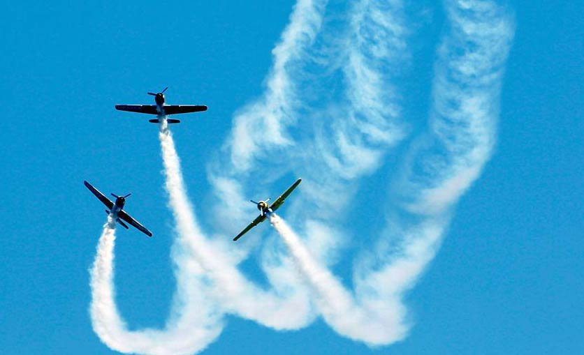 Highlights of Bucharest International Air Show in Romania