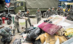 PLA garrison's relief efforts widely praised after typhoon hits Macao