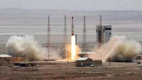 Iran 'successfully' launches ballistic missile, TV reports