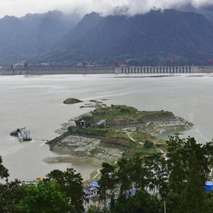Three Gorges project starts to launch water storage test