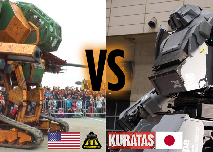 China's giant combat robot braces for upcoming fight with