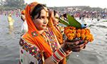 Hindus celebrate Chhath Puja across India