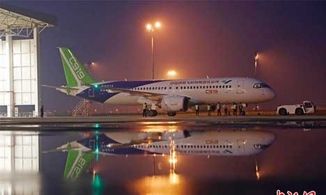 C919 jetliner undergoes final testing in Shanghai