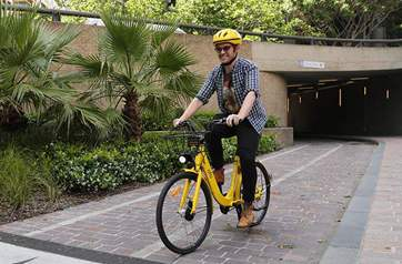 Bike-sharing in China pedals its way to Australia