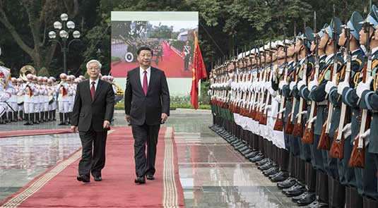 China, Vietnam agree to deepen partnership