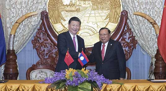 China, Laos to build community of shared future