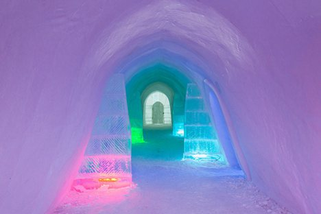 China's first ice hotel in Inner Mongolia