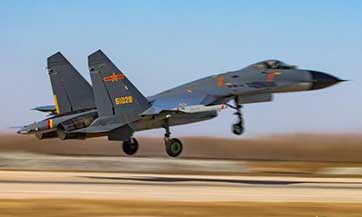 Fighter jets take off for exercise after Xi kicks off annual military training