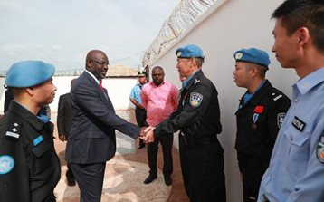 China concludes 14-year peacekeeping operations in Liberia