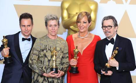 In pics: winners at 90th Academy Awards