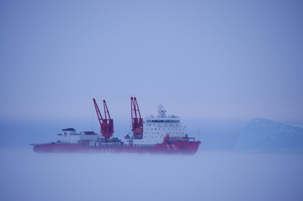 China's icebreaker Xuelong obtains important data in Antarctica