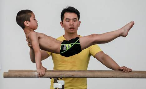 Impoverished county nurtures gymnastic dreams