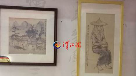 Country Record - the Zaoyang coarse cloth painting was granted the Silver Award