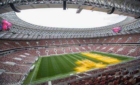 Luzhniki Stadium for 2018 World Cup in Moscow