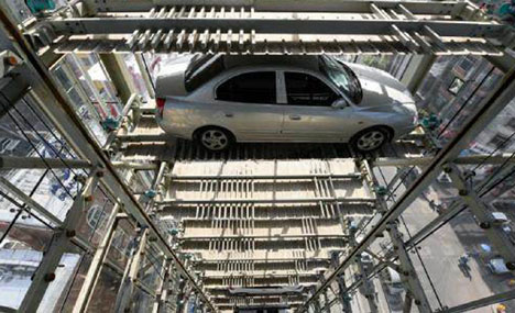 New 26-story car park built in Taiyuan