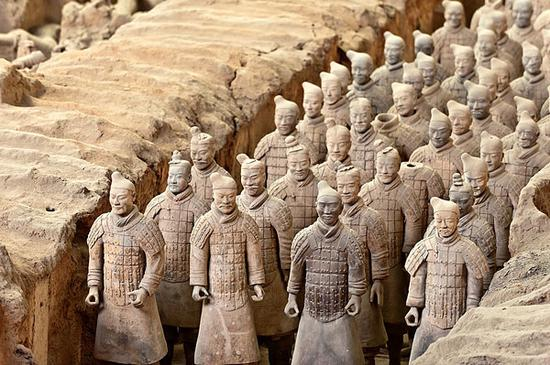 Terracotta Army-themed B&B in Xi'an goes viral online