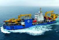 Asia's largest dredging vessel completes first sea trial