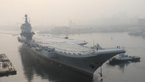 China's first domestically-built aircraft carrier completes sea trials