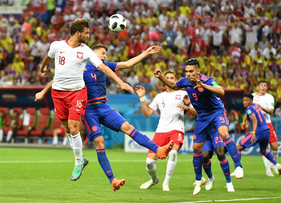 Poland eliminated from World Cup after 3-0 loss to Colombia