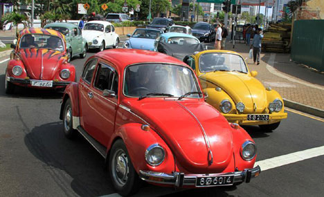 World Volkswagen Day celebration held in Colombo