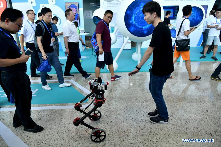 Chinese tech giant Baidu holds annual AI developer conference in Beijing