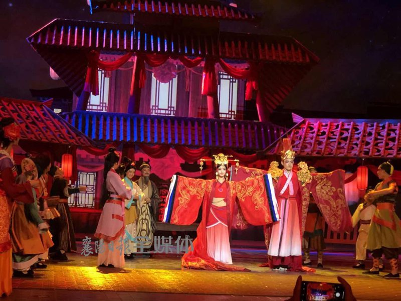 Revive the Dreams of Han Dynasty - The Ode to Han debuts in Zaoyang