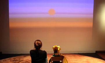 Suzhou exhibition brings alive scenes in 'The Little Prince'